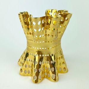 Arme gold cuff bracelet